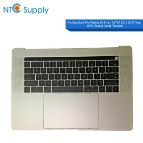 Apple Macbook Pro 15.4 inch A1707 Top case Full Assembly Space Grey Silver 2016 2017 Year EMC 3162 EMC 3072