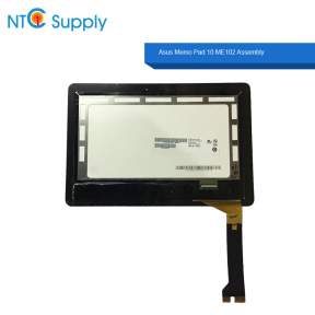 Asus Memo Pad 10 ME102 ME102A K00F Touch Screen Digitizer LCD Display Assembly B101EAN01.6