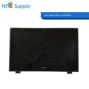 "LP125WF2 (SP)(B2) For Acer Aspire Switch12 12.5"" LCD TOUCH SCREEN DIGITIZER ASSEMBLY with bezel 1920*1080 6M.MQJN1.001 30pin"