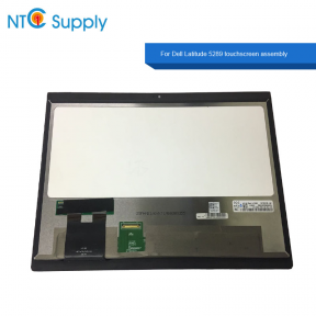 "Dell Latitude 5289 1080P NV125FHM-N51 LED LCD Touch Screen Assembly Replacement with Frame 12.5""- HD Cam - 0GDM0"
