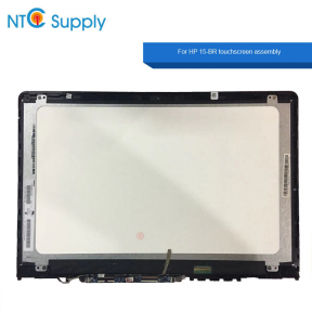 HP Pavilion x360 15-BR000 15-BR077NR 925711-001 15.6 Lcd assembly with Bezel frame N156BGA-EA2 REV.C1 CT.CGATF025C824MK