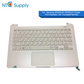 Samsung NP900X3N NP900X3T Keyboard BA59-04278 B Korean Font With Touchpad/Palmrest White US Standard Keyboard