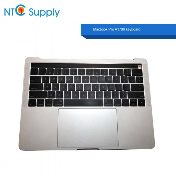 """Macbook Pro 13/"""" 2016 A1706 Silver Top Case Keyboard Battery A1819 Trackpad A+"""