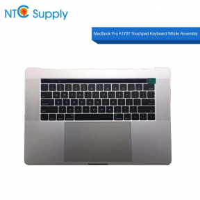 "MacBook Pro A1707 15"" 2017 2016 Top Case Battery Trackpad Keyboard touch bar A+"