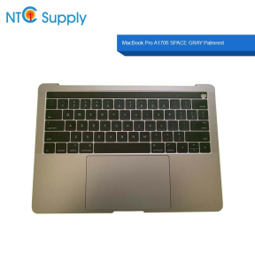 "MacBook Pro A1707 15"" 2016 2017 Top Case Battery Gray Keyboard Trackpad touch bar A"