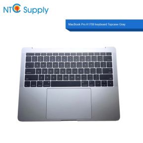 "Apple MacBook Pro 13""A1708 2016 2017 keyboard Battery touchpad Topcase Gray"